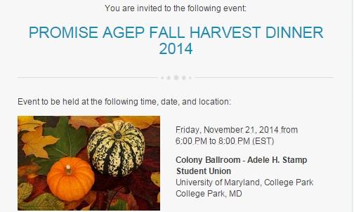 PROMISE Fall Harvest 2014