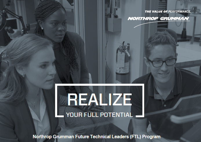 Sept  21, 2016: Northrop Grumman Future Technical Leaders
