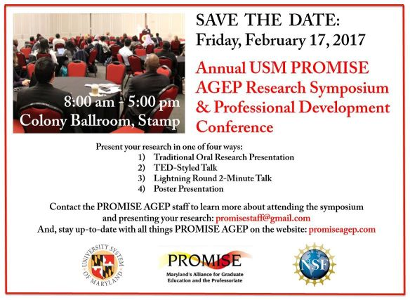 Spring 2017 PROMISE Research Symposium & Professional